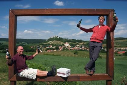 Richard und Peter Luckner, Falkenstein