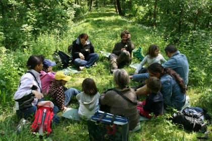 Waldpädagogik im Schlosspark