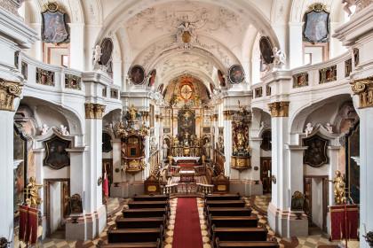 Stiftskirche Dürnstein Innenansicht