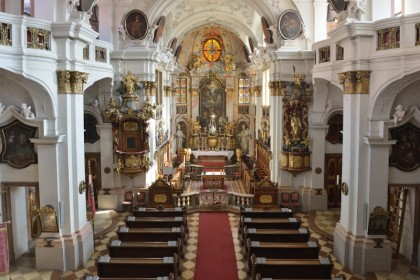 Stiftskirche Dürnstein innen