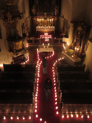 Nacht der 1000 Lichter Loiben