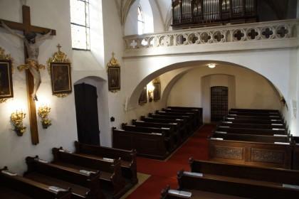 Kirchenraum Pfarrkirche Loiben