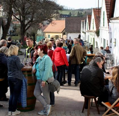 Weintour in der Falkensteiner Kellergasse