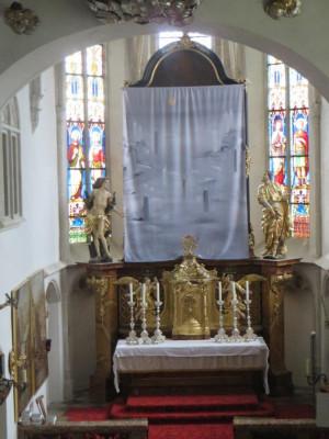 Fastentuch Pfarrkirche Loiben