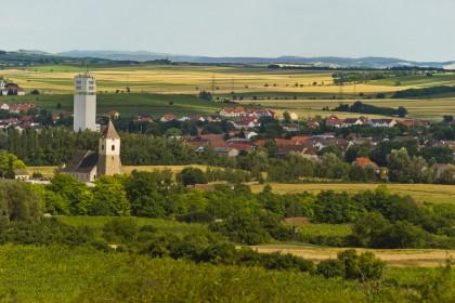 Blick auf Zellerndorf