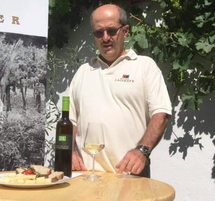 Weinschaum beim Winzer