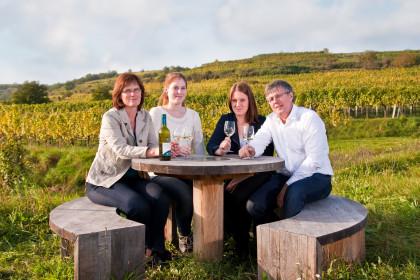 Weinschaun beim Winzer in der Bioweingärtnerei Grillmaier