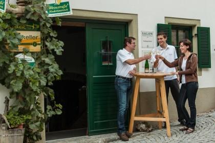 Weinschaun beim Winzer