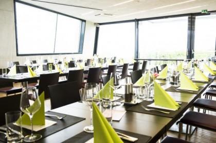 Perfekter Rahmen im neuen Weinverkostungszentrum