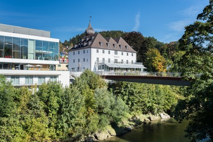 Das Schloss an der Eisenstrasse in Waidhofen an der Ybbs in Niederösterreich