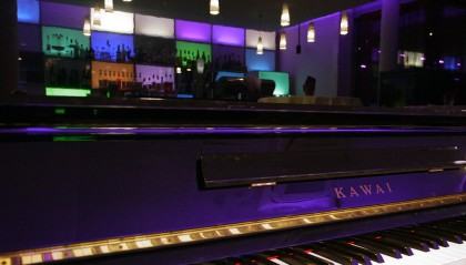 Livemusik bei der WeinKlang Veranstaltung