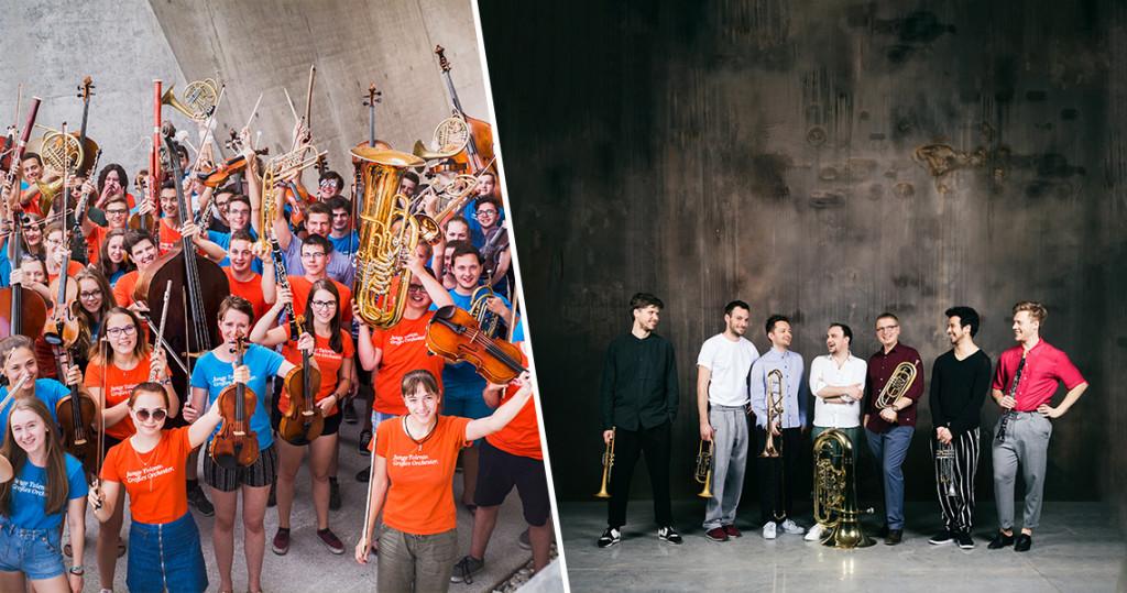Federspiel & Jugendsinfonieorchester NÖ