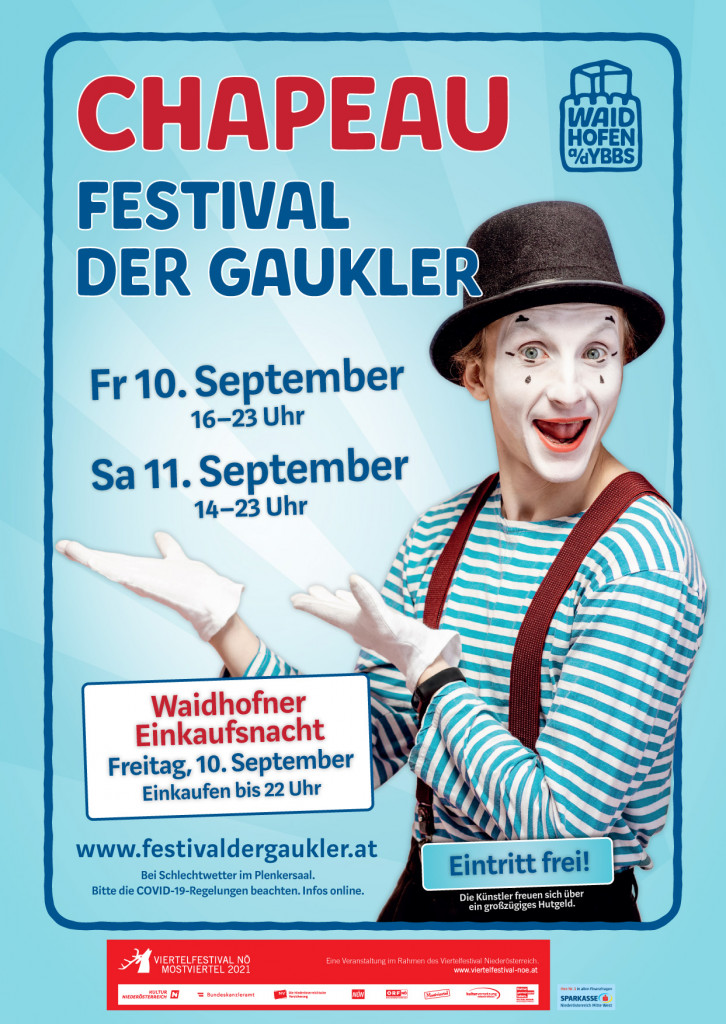 Chapeau! Festival der Gaukler & Waidhofner Einkaufsnacht
