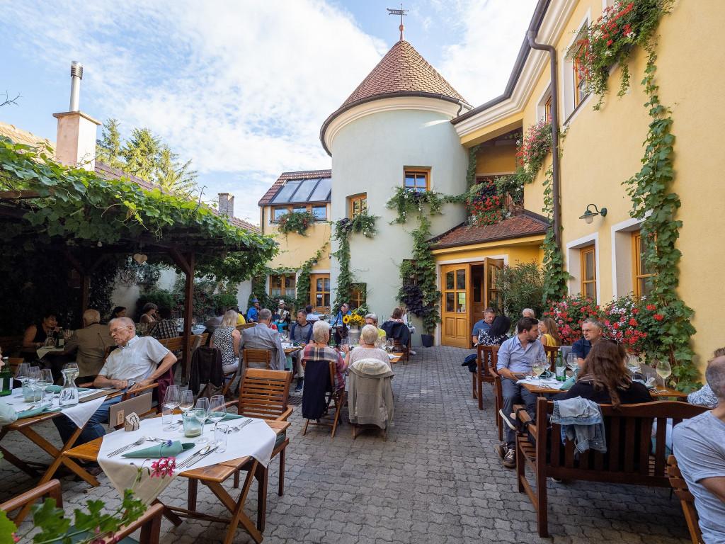 Mocatheca im Weingut Herzog