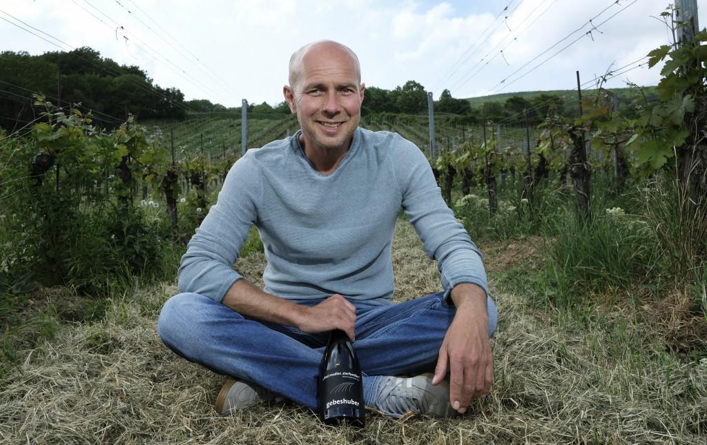 Paul und Richard Schuberth im Weingut Gebeshuber