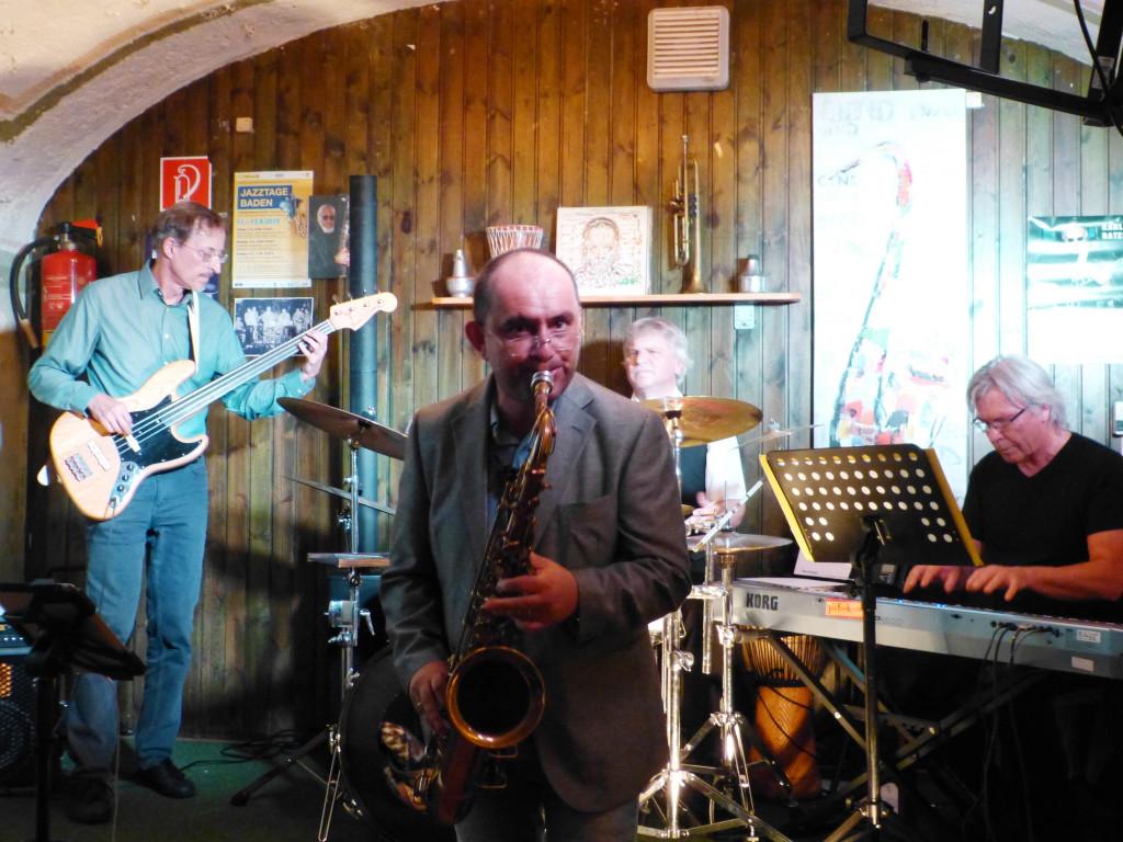 Badener Jazzcafe im Café Central:  Helmut&Helmut Quartett