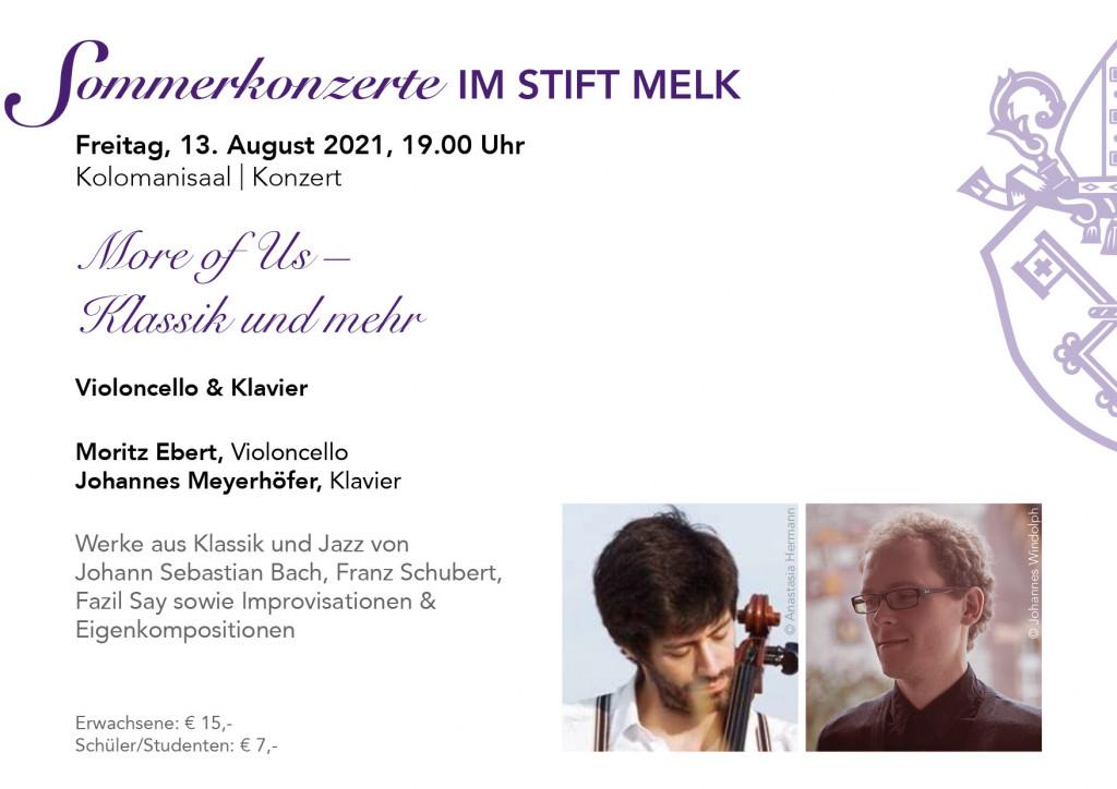 Sommerkonzert im Kolomanisaal