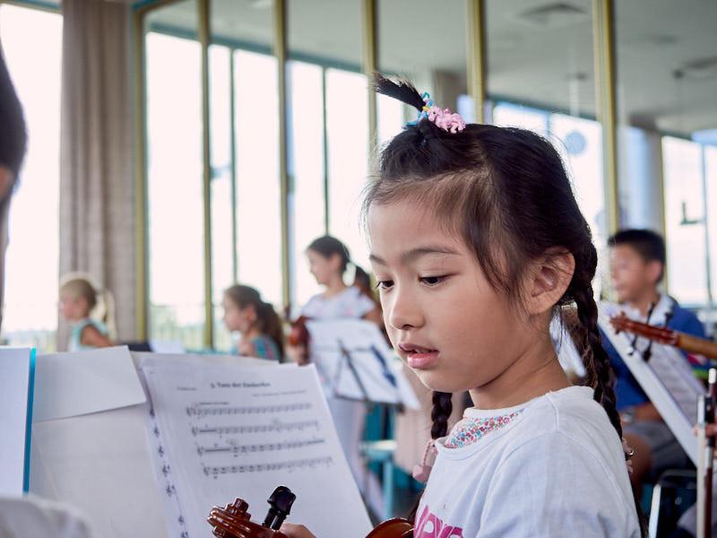 Allegro Vivo. Abschlussmatinée der Kinderkurse