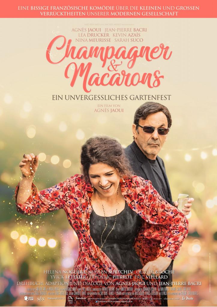 Champagner und Macarons - ein unvergessliches Gartenfest