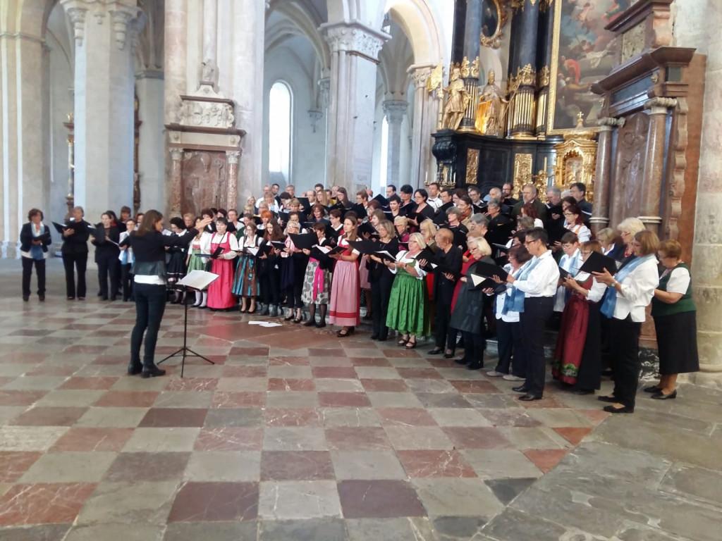 Chorfestival mit regionalen Chören