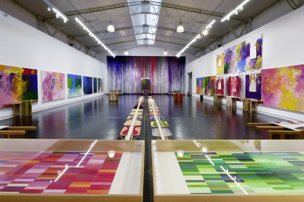 Hermann Nitsch: Neue Arbeiten