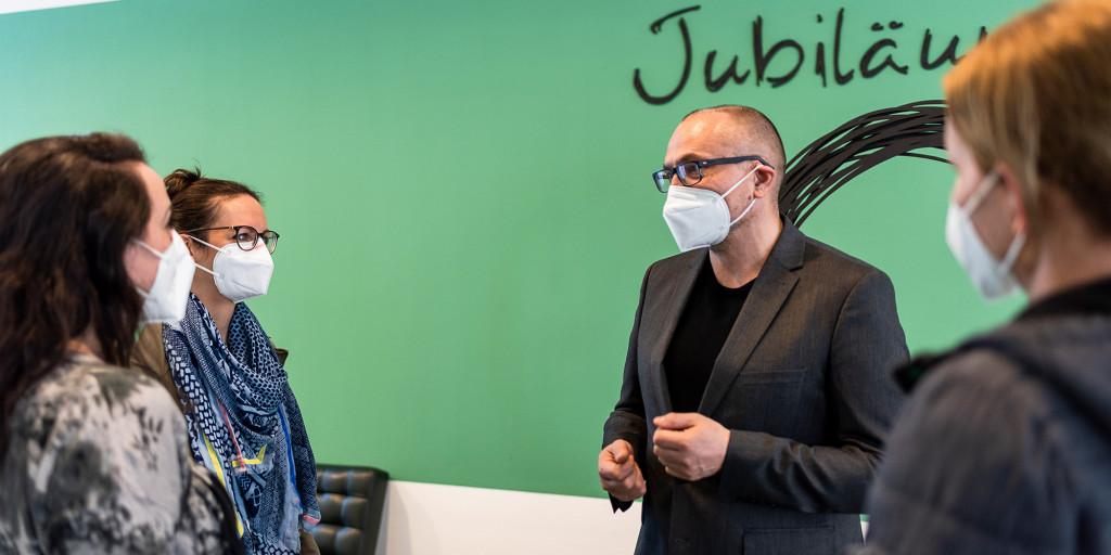 Kuratorenführung mit Direktor Gottfried Gusenbauer