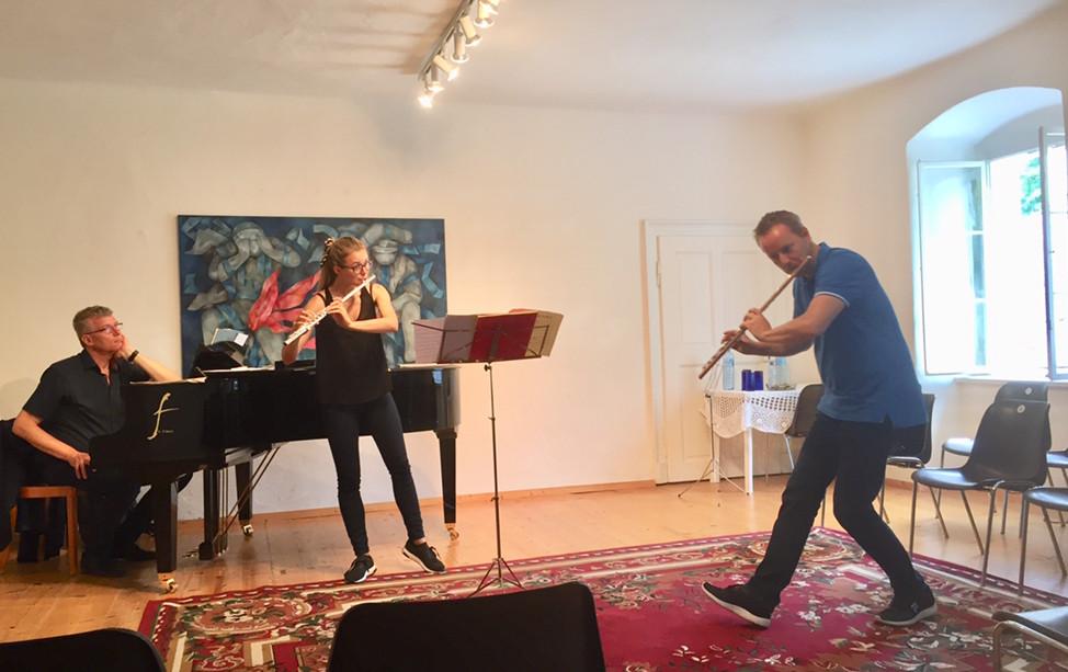 Konzert der Meisterklasse Flöte (Erwin Klambauer)