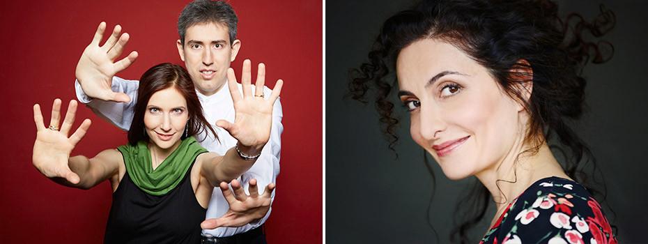 Tausendundeine Nacht   Proschat Madani & Silver Garburg Klavierduo