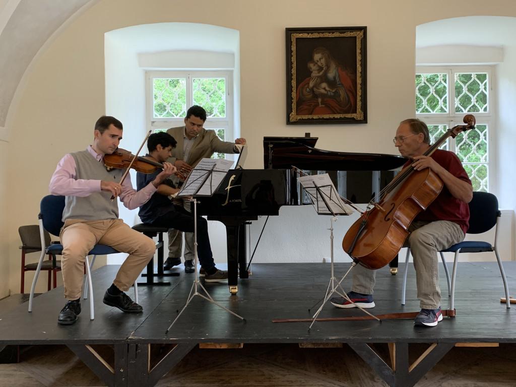 Konzert der Meisterklasse Cello (S. Gartmayer) & Meisterklasse Violine (M. Brilinsky)