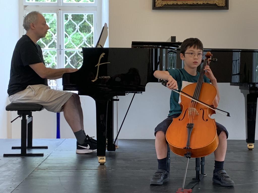 Konzert der Meisterklasse Harfe, Flöte und Saxophon