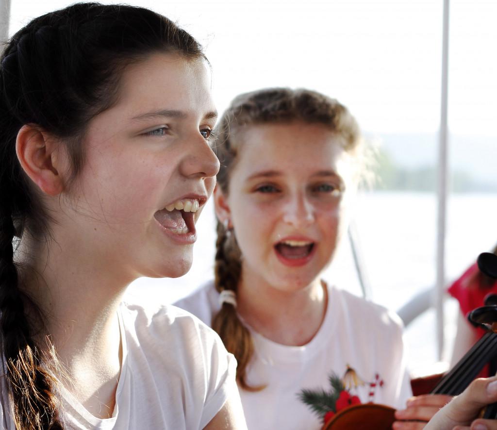 Unter freiem Himmel - Singen mit Aussicht - in Ottenschlag
