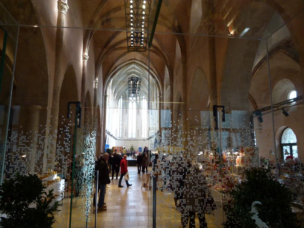 Eingang zum Adventmarkt