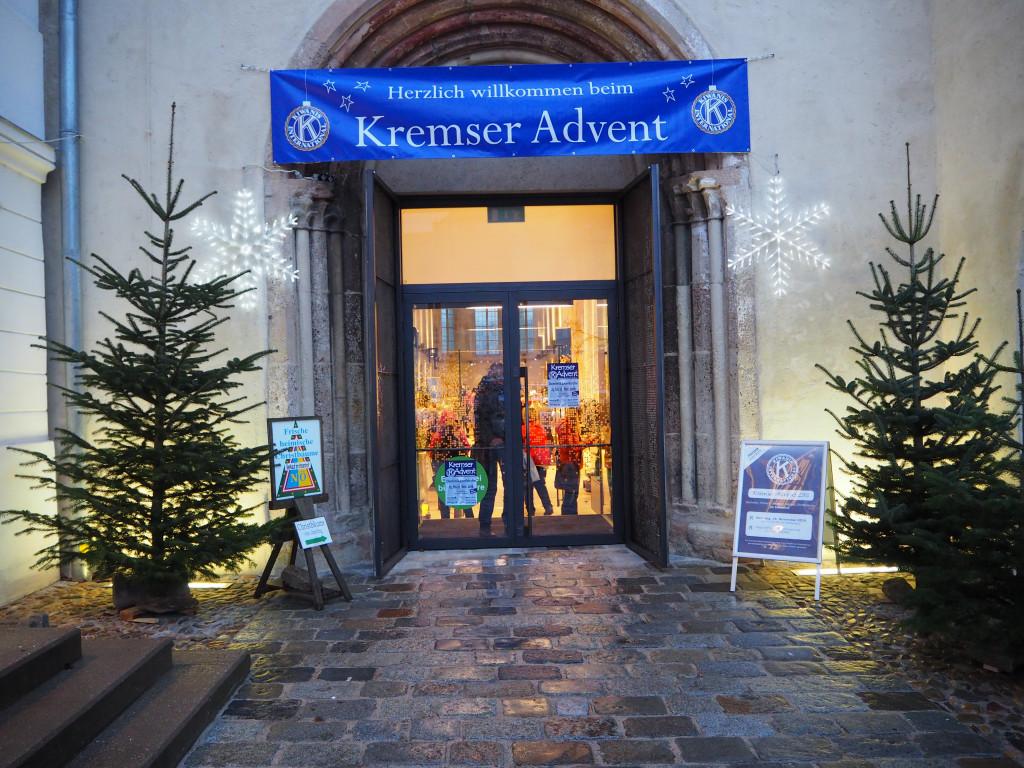 Eingang in die Dominikanerkirche