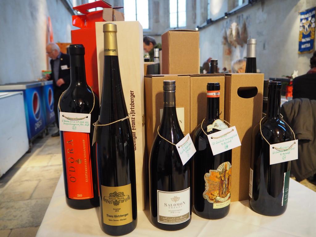 Magnumflaschenversteigerung für Weinkenner