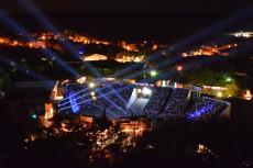 Felsenbühne Staatz mit 1.200 Plätzen eine der größen Open Air Bühnen