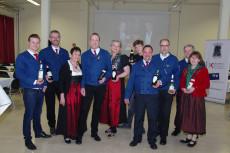 Die Mitglieder des Weinbauvereins Brunn am Gebirge freuen sich auf die Jungweinpräsentation.
