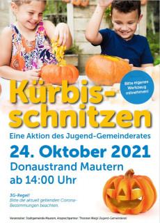 Plakat Kürbisschnitzen