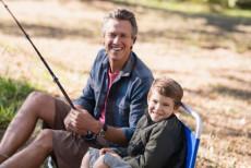 Angeln: eine schöne Zeit für Väter und Söhne