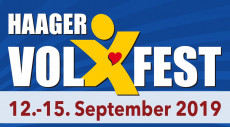 Logo Haager Volxfest 2019