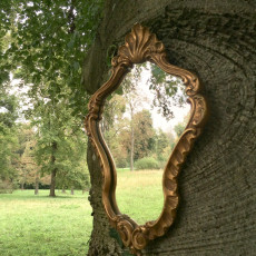 Spiegelungen im Schlosspark