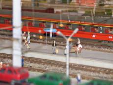 Bahnsteiggeschehen