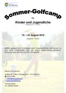 Sommercamp August 2019