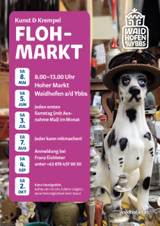 "Flohmarkt ""Kunst & Krempel"""