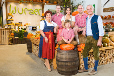 Familie Wurzer von Wurzers Kürbishof in Bodensdorf bei Wieselburg