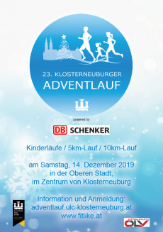 23. Klosterneuburger Adventlauf