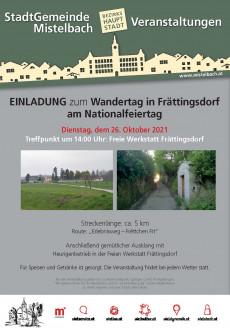 Wandertag in Frättingsdorf