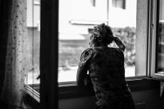 Linda Zahra, aus der Serie A Window in Exile, 2017