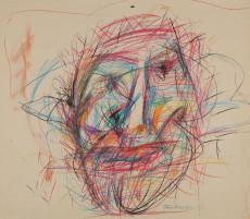 Adolf Frohner, Gesicht, 1983, (c) Adolf Frohner gemeinnützige Privatstiftung