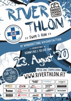 Riverthlon 2020 Poster