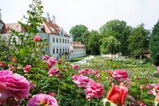 Schloss Thalheim Rosengarten